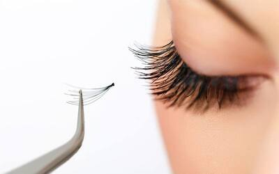 Lash Natural Korean Eyelash Extension with Touch Up and Eye Mask Treatment for 1 Person