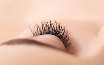 Silk Eyelash Extension with Eyebrow Trimming for 1 Person