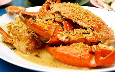 One (1) 500g Sri Lankan Crab in a Choice of 4 Cooking Styles