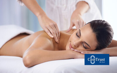 90-Minute Full Body Massage with Body Treatment 1 Person