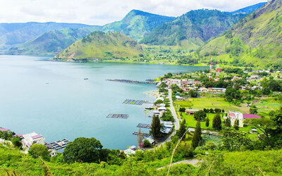 Medan: 4D3N Berastagi, Parapat, and Samosir Island Tour + Hotel Stay for 1 Person