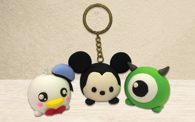 Creative and Fun Cartoon Tsum Tsum Key Chain for 1 Child (1 Session)