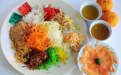 Chinese New Year Yu Sheng for 6 People
