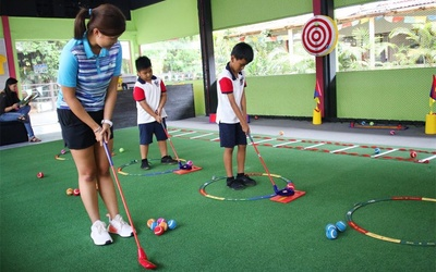 1-Hour Golf Lessons for 2 Children (4 Classes)