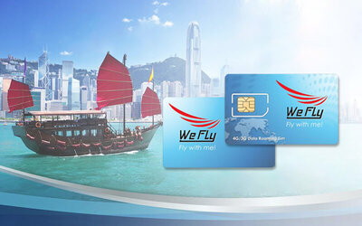 Hong Kong: 7-Day 4G/3G Hutchinson 3 Data SIM Card with Unlimited Data Plan + Mail Delivery