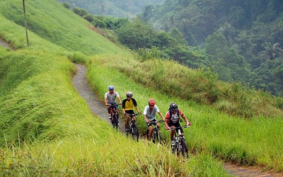 Bali: Cycling Session + Ubud Tour Package for 1 Person