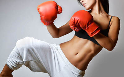 Cardio Kickboxing Trial Class for 1 Person (1 Session)