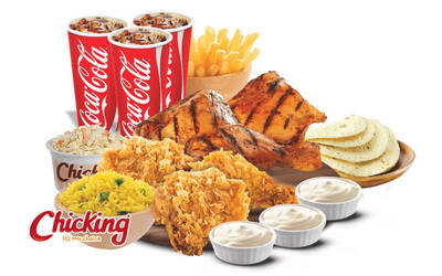 6-Piece Chicking Set for 1 Person