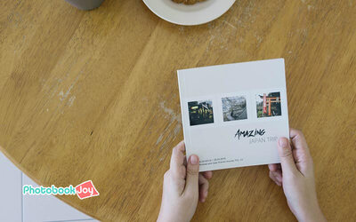 6'' x 6'' Personalised Square Softcover Photobook (40 Pages)