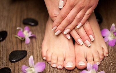 Gel Manicure + Basic Pedicure for 1 Person