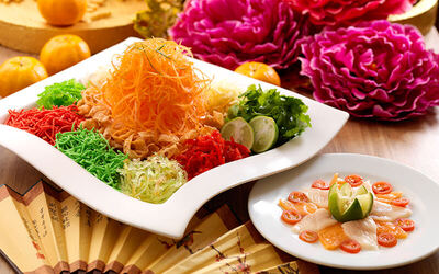 [CNY] (Half Portion) Chinese New Year Salmon Yee Sang for Up to 6 People