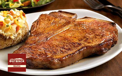 Bukit Bintang: RM50 Cash Voucher for Burgers, Steaks, Ribs, & More