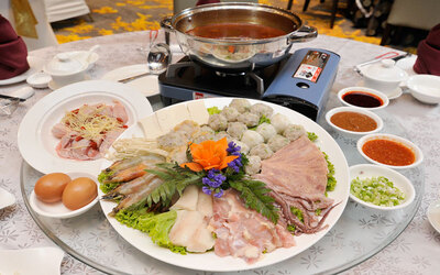 Steamboat Set for 4 People