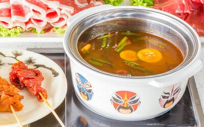 Mini Steamboat Hotpot Set for 1 Person
