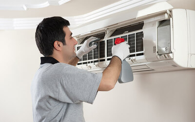 Full Chemical Air Conditioner Service with Gas Refill for Two (2) Units