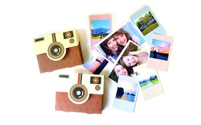 Mini / Wide StoryTag Cards (With Camera-Shaped Box)