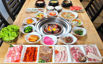 Korean Pork BBQ Platter for 3 People
