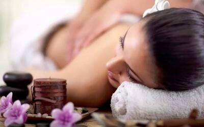 3x Aroma Therapy Body Massage + Body Scrub + Body Mask + Face Acupressure + Body Moisturizer + Ginger Tea
