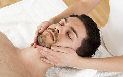 90-Minute Men's Facial with Mask, Eye Treatment, and Shoulder Massage for 1 Person (3 Sessions)