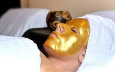 Facial Gold + Hair Spa + Blow