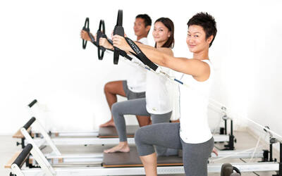 60-Mins Reformer Pilates Class for Weight Loss / Body Aches for 2 People (4 Classes)