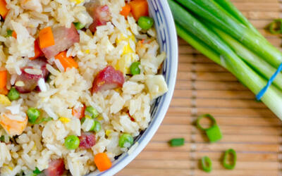 Dealivery Yang Chow Fried Rice with Egg