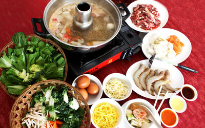 Thursday: Steamboat Buffet for 4 People