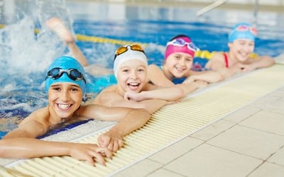 Four (4) Basic Swimming Classes for 1 Child (7 - 15 Years Old)