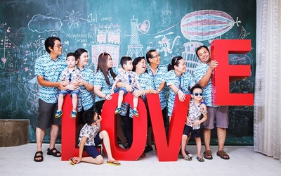Family Day Studio Photoshoot