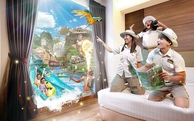 Perak: 2D1N Stay in Exotic Room with Breakfast and Adult Admission Tickets to Lost World Theme Park for 2 People