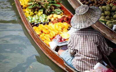 Bangkok: Half-Day Market Tour