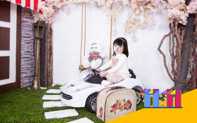 [11.11 Sale] 1-Hour Kids' Photoshoot with One (1) Costume
