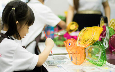 2-Hour Creative Art Class for 1 Kid (2 Sessions)
