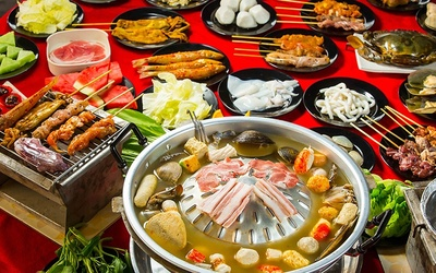 Mookata Steamboat for 4 People