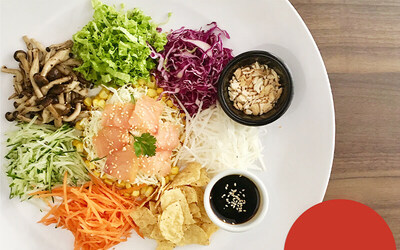 [CNY, DELIVERY] Healthy Yee Sang with Norwegian Smoked Salmon for 4-6 People