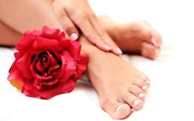 Manicure/Pedicure by Footlogix + Gel Nail Polish/Chrome