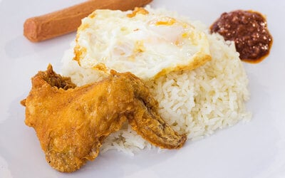 Tian Tian Nasi Lemak Set for 1 Person