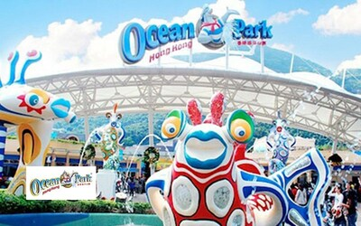 Hong Kong: Admission to Ocean Park for 4 Adults