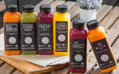 1-Day Cold-Pressed Juice Cleanse Package