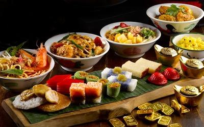 Penang-Style Buffet Lunch