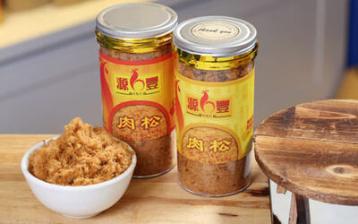 500g of Chicken Floss + Shop & Win Cash Ang Pao Contest Entry