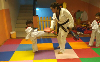 Voucher Rp. 20.000 worth Rp. 100.000 for Taekwondo Class (4 sessions / month)