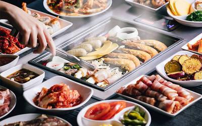 [Sat, Sun & PH] Korean BBQ Lunch Buffet + Coke + Ice-cream for 1 Adult