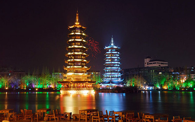 China: 5D4N Guilin and Yungshao Tour with English-speaking Tour Guide + Local Hotel + Meals for 1 Person
