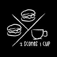 2 scones 1 cup  featured image