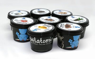 Gelato in Cups (40 Cups)