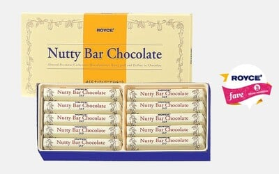 2 Box Royce Fruit Bar + 1 Box Nutty Bar Royce