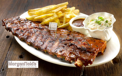 West Malaysia: Full Slab of Signature Sticky Bone Spare Ribs