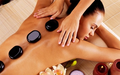 3x Hot Stone + Aroma Therapy + Body Massage + Face Acupressure + Body Moisturizer + Ginger Tea