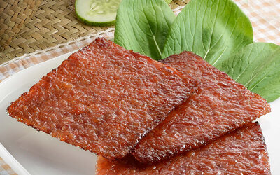 [CNY] Two (2) 400g Packs of Hot and Spicy Sotong Jerk Barbecued Meat with Free Delivery